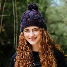Riley Aran Hat Pattern A warm and cozy unisex beanie pattern. We recommend using worsted weight Irish yarn, which will make this beanie ideal for winter. Suitable for beginners and intermediate knitters. Knitting Kits, Knitting Projects, Knitting Patterns, Crochet Patterns, Beanie Pattern, Pattern Library, Beanie Hats, Warm And Cozy, Winter Hats