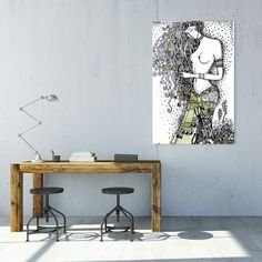 artboxONE - art prints at affordable prices bei artboxONE Drafting Desk, Entryway Tables, Art Prints, Fun, Painting, Furniture, Code Online, Home Decor, Father