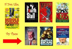 Middle School series by @James Patterson - try these other books