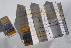 Let them find you easier. Make a mini map business card.