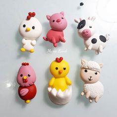 Animal *Farm House* Material : Airdry Clay