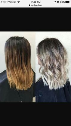 ♥Light Ash Blonde Balayage♥