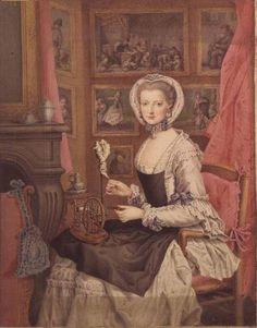 1766. Marie Christine of Austria 1742-1798