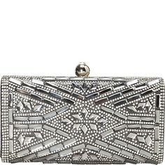J Furmani Hardcase Stone Design Clutch Pewter Want To Know More