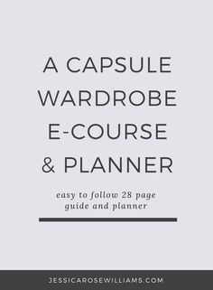 How I built my minimal 32 piece capsule wardrobe that serves me all year. 28 page easy to follow guide and planner with creative exercises and journaling prompts | minimalist fashion | minimal style | capsule wardrobe | year round capsule wardrobe | simple living | A year round minimal capsule wardrobe | how to build a capsule wardrobe | minimal style | minimal outfit ideas | minimalism lifestyle