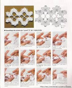 Crochet - Pizzo - Pizzo Belgio - Graphic - Ciao Kitty - Sun Moon Morning Star
