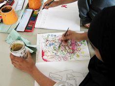 sketchbook ideas doodle ball