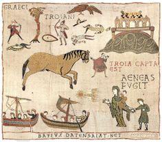 Troia capta est. Aeneas fugit