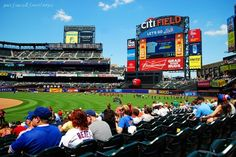 New York Mets Citi Field #mlb #baseball #stadium