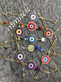 Brick Stitch, Bead Weaving, Diy Jewelry, Macrame, Crochet Necklace, Beads, Mini, Bracelets, Instagram