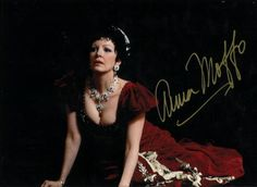 Soprano Anna Moffo in title role of Puccini's Tosca.