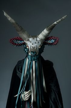 Sculptures made from ribbons by Ribbonesia