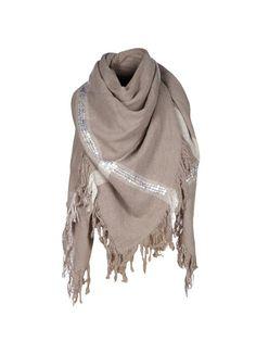 10Days - Plaid scarf - clay