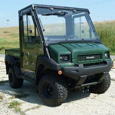 Kolpin Full Cab Enclosure w Wipers System and Heater Kawasaki Mule 4010 | eBay