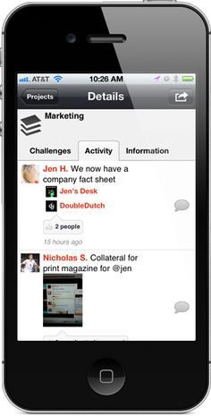 Mobile Team Collaboration App - Social, Transparent, Free!