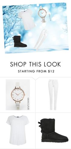 """""""no name1"""" by aaliyah-kershaw on Polyvore featuring ASOS Curve, WearAll and UGG Australia"""