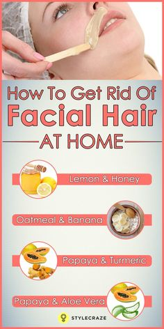 Skin Beauty Remedies Home Remedies And Tips For Unwanted Facial Hair - Let's face it. Unwanted hair on the face is our biggest nightmare. But the moment we try to thread it off, we get angry red blotches on our face. Natural Beauty Tips, Natural Hair Styles, How To Get Rid, How To Remove, Beauty Hacks For Teens, Beauty Hacks At Home, The Face, Hair On Face, Hair Removal Methods