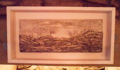 "Original Vintage Lace Mixed Media Art - ""Along The Fell"" by BuddhasBeanie on Etsy"