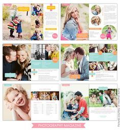 Photography Digital Magazine | Essential | Photoshop templates for photographers by Birdesign