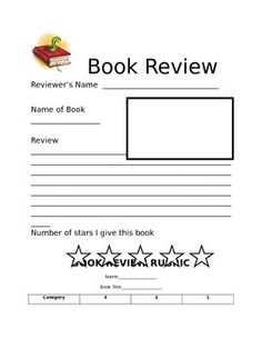 Review Writing Movie  Template Students And Movie