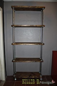 I know what I'm making today:  industrial shelf carts for the studio with cheap lumber and plumbing supplies