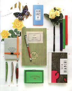 happnstance: libraries:Jordan Ferney | Oh Happy Day!: Pretty Office Supplies via http://designlovely.tumblr.com