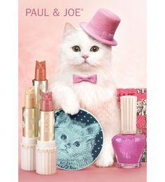 pin pink cat by PAUL & JOE