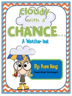 Great weather unit for 2nd grade!