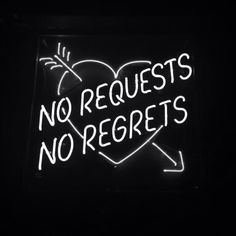 no requests, no regrets - neon typography Images Wallpaper, Wallpaper Quotes, Flash Wallpaper, Mood Wallpaper, Purple Wallpaper, Neon Quotes, Love Quotes, Quotes Pics, Sassy Quotes