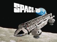 Space: 1999. I was young. It was British. There was a vaccum of good sci fi on tv. The ships were amazing.