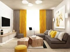 Is it accurate to say that you are searching for inside finishing thoughts to use in a small living room? Small living rooms can look similarly as appealing as huge living rooms. Small living rooms can be special just as… Continue Reading → Classy Living Room, Small Space Living Room, Beautiful Living Rooms, Living Room Grey, Small Spaces, Living Room Decor Yellow, Small Living Room Designs, Small Apartments, Room Colors