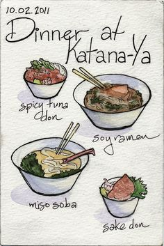 Dinner at Katana-Ya on Flickr.