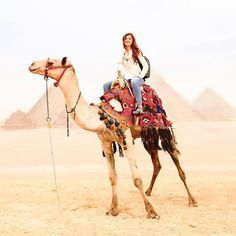 Try the trend: Things are heating up in desert destinations like Morocco, Dubai, Atacama Desert and Joshua. is ahead of the game with her desert adventure