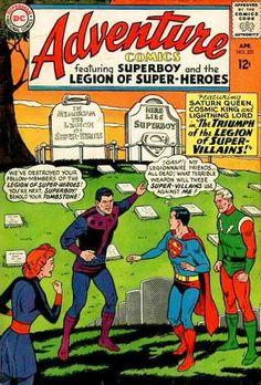 Adventure Comics #331, Superboy, Legion of Super Villains