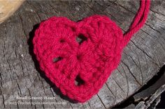 I got the idea to make a granny heart, I am not sure why, but once I did it wouldn't leave my head. It has been percolating in there for a while. I figured I should just do it and get it out of t...