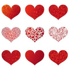 Free Clip Arts   Hearts