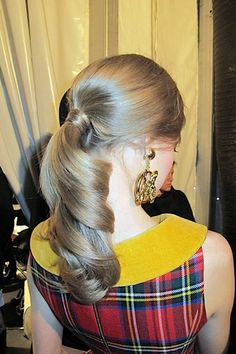 Mfw Sam Mcknight On Moschino Winter Hairstylesparty