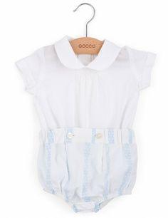 Ropa bebé | Conjunto bebé | Camisa | Cubrepañal | Gocco