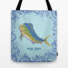 The vibrant and colorful Mahi Mahi, aka the Dolphin Fish or Dorado!