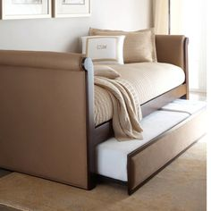 Trundle bed for study
