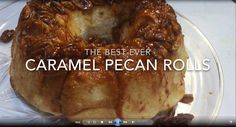 Want to make something delicious this weekend? Try these caramel pecan rolls. These are one of themost requested recipesfor WHNT News 19 sister station KTVI in St. Louis.    INGREDIENTS    16 Rhodes Rolls    1/2 cup butter    1/2 cup brown sugar    1 small package of cook and serve butterscotch pudding (3.5 oz)