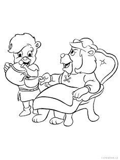 Cubbi and Igthorn Gummi bears cartoon