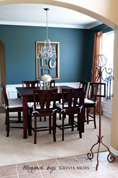 If Youu0027re Looking For A Warm Blueish Gray For Your Dining Room, · Dining  Room Paint ColorsWall ...