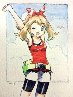 Pokemon Waifu, Sexy Pokemon, Pokemon Manga, All Pokemon, Pokemon Fan Art, Cute Pokemon, Sapphire Pokemon, Pokemon Collection, Anime Wolf Girl