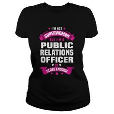 Awesome Tee Public Relations Officer T shirt