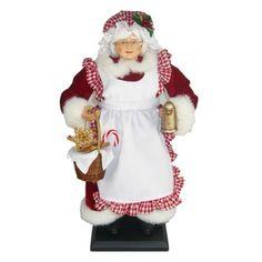 St. Nicholas Square® Baking Mrs. Clause Figurine