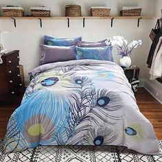 New Winter Sanding Bedding Set Geometric Pink New York Cotton Duvet Cover Bed Sheet Set Bedclothes Queen King Bed Linen Best Bedding Sets, Duvet Sets, Duvet Cover Sets, Cotton Bedding, Linen Bedding, Grey Comforter, Bed Linens, King Bed Linen, King Size Duvet Covers