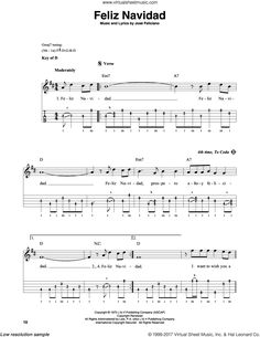 Feliciano - Feliz Navidad sheet music for banjo solo [PDF] Christmas Sheet Music, Banjo, Things I Want, Lyrics, Pdf, Xmas, Song Lyrics, Music Lyrics, Banjos