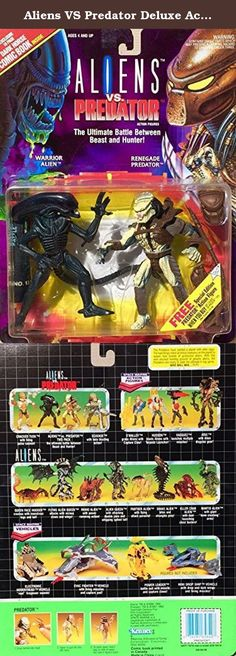 Aliens VS Predator Deluxe Action Figure Set. It's shipped off from Japan.