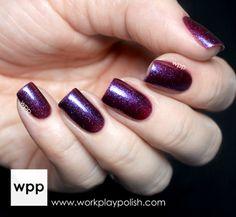Femme Fatale Cosmetics Twilight Meteorite swatched by http://workplaypolish.com/